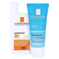 La Roche-Posay Anthelios Invisible Fluid LSF 30 + gratis La Roche Posay Posthelios After-Sun 40 ml 50 Milliliter