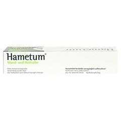 Hametum Wund- und Heilsalbe 100 Gramm N3 - Oberseite
