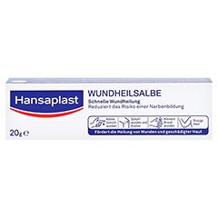 Hansaplast Wundheilsalbe 20 Gramm - Vorderseite