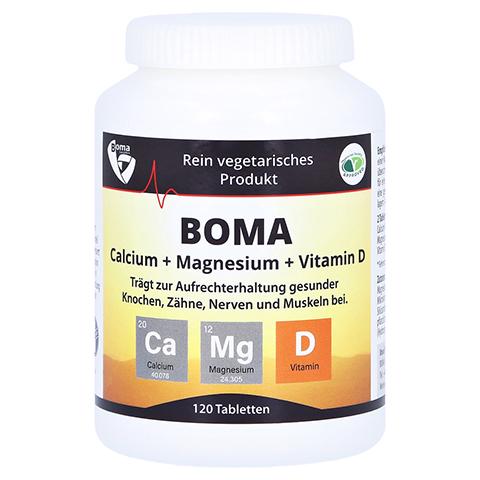 CALCIUM+MAGNESIUM+Vitamin D Tabletten 120 Stück