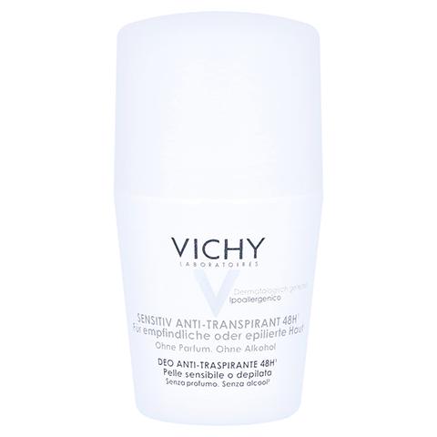 Vichy Deo Anti-Transpirant Roll-on Sensitiv 48h 50 Milliliter