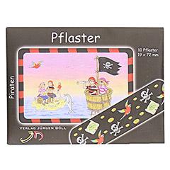 KINDERPFLASTER Piraten Briefchen 10 Stück