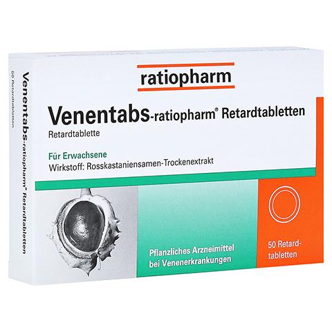 Venentabs-ratiopharm 50 Stück N2