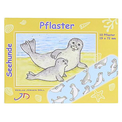 KINDERPFLASTER Seehunde Briefchen 10 Stück