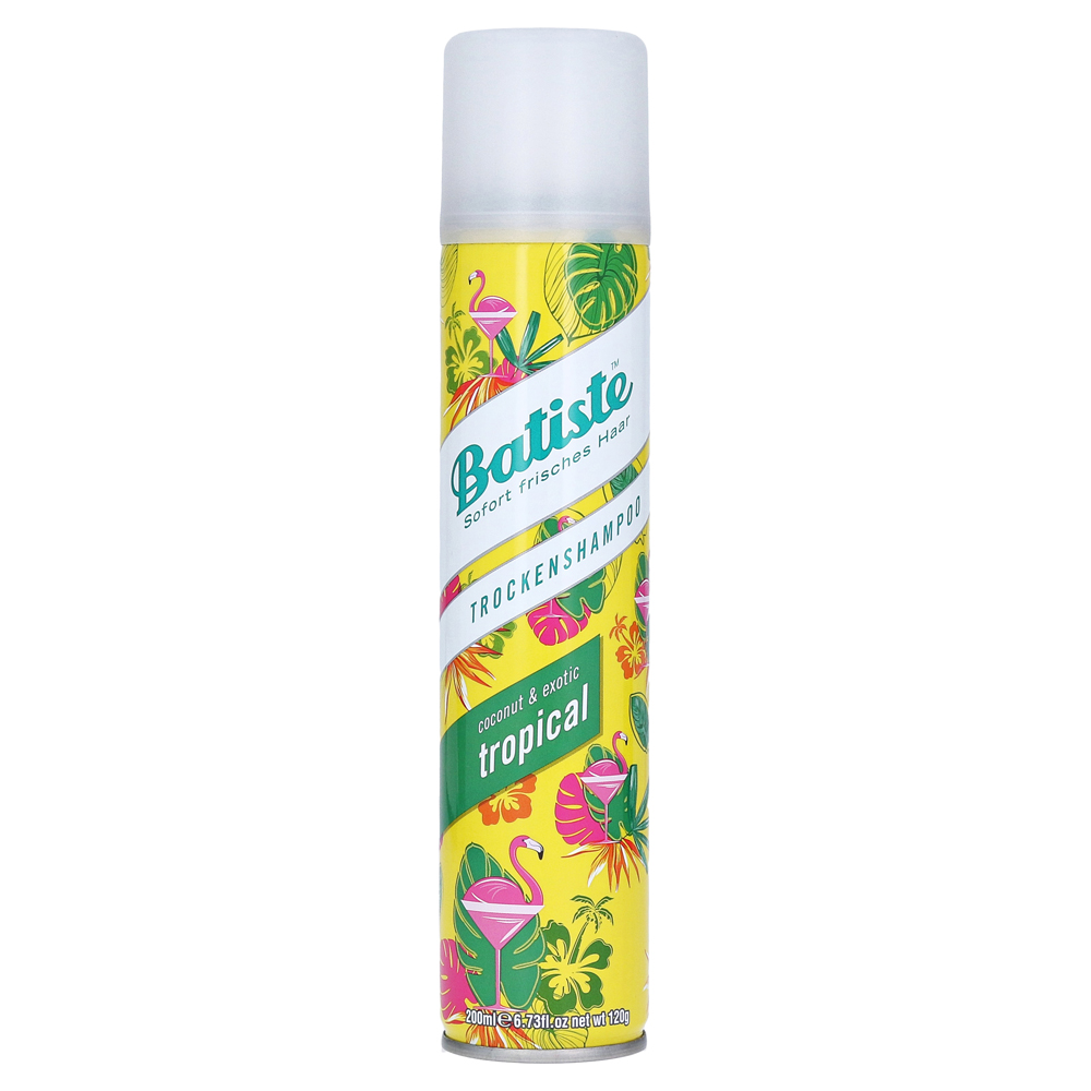 batiste trockenshampoo tropical coconut exotic 200 milliliter online bestellen medpex. Black Bedroom Furniture Sets. Home Design Ideas