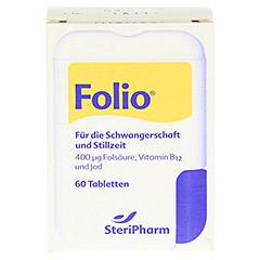 Folio+B12 Tabletten 60 Stück - Vorderseite