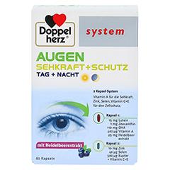 DOPPELHERZ Augen Sehkraft+Schutz system Kapseln 60 Stück - Vorderseite