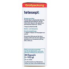 TETESEPT Omega-3 1000 Kapseln 80 Stück - Linke Seite