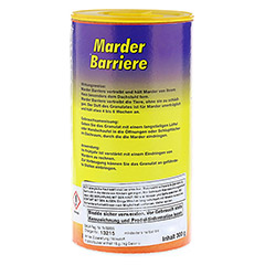 MARDER-Barriere Pulver vet. 300 Gramm - Linke Seite