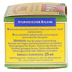 MAHARISHI Ayurveda Balsam 25 Milliliter - Linke Seite