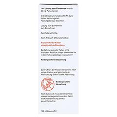 Paracetamol-ratiopharm 40mg/ml Lösung zum Einnehmen 100 Milliliter N1 - Linke Seite