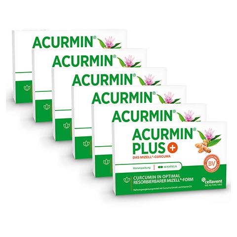 ACURMIN Plus Das Mizell-Curcuma Weichkapseln 360 Stück
