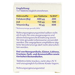 Folio+B12 Tabletten 60 Stück - Rückseite