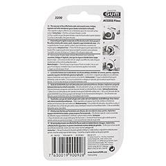 GUM Access Floss 50 Anwendungen 1 Stück - Rückseite