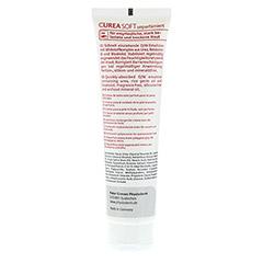 CUREA SOFT Hautpflegecreme unparfümiert 100 Milliliter - Rückseite