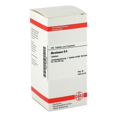 ABROTANUM D 6 Tabletten 200 Stück N2