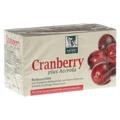 CRANBERRY ACEROLA Baders Filterbeutel 20 St�ck