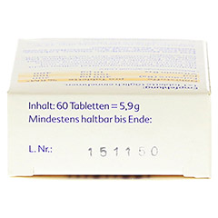 Folio+B12 Tabletten 60 Stück - Oberseite