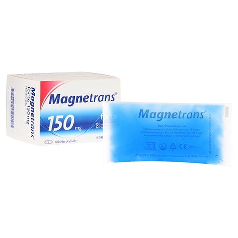 Magnetrans forte 150 mg Hartkapseln + gratis Magnetrans Kühlpad 100 Stück N3