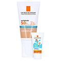 La Roche-Posay Anthelios Ultra LSF 50+ Getönte Sonnenschutz Creme für das Gesicht + gratis La Roche Posay Anth. W Gel Kids 15ml 50 Milliliter