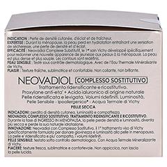 VICHY NEOVADIOL Creme trockene Haut + gratis VICHY NEOVADIOL Serum 7 ml 50 Milliliter - Linke Seite