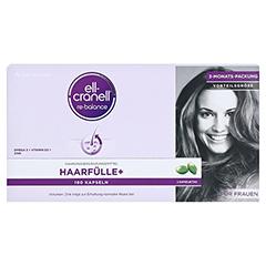 ELL-CRANELL Haarfülle+ für Frauen Kapseln 180 Stück - Vorderseite