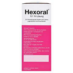 Hexoral 0,1% Lösung 200 Milliliter N1 - Rechte Seite