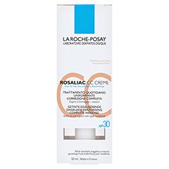 ROCHE-POSAY Rosaliac CC Creme + gratis La Roche Posay Rosaliac Mizellen-Reinigungsgel 50 Milliliter - Rückseite