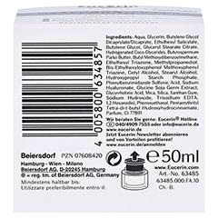 Eucerin Hyaluron-Filler Tagespflege Trockene Haut + gratis Eucerin Dermatoclean Mizellen-Reinigung 100ml 50 Milliliter - Unterseite