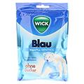 WICK BLAU Menthol Bonbons o.Zucker Beutel 72 Gramm