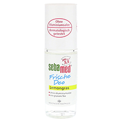 SEBAMED Frische Deo Roll-on Lemongras 50 Milliliter