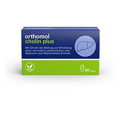 ORTHOMOL Cholin Plus Kapseln 60 Stück
