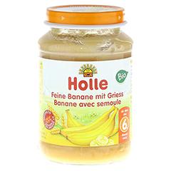 HOLLE feine Banane mit Gries 190 Gramm