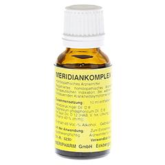 MERIDIANKOMPLEX 5 Tropfen zum Einnehmen 20 Milliliter N1