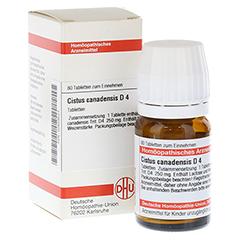 CISTUS CANADENSIS D 4 Tabletten 80 Stück N1