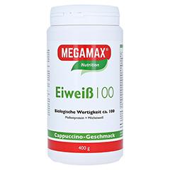 Eiweiss 100 Cappuccino Megamax Pulver 400 Gramm