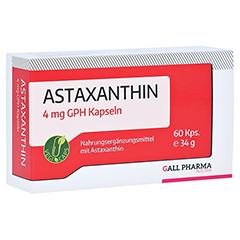 ASTAXANTHIN 4 mg GPH Kapseln 60 Stück