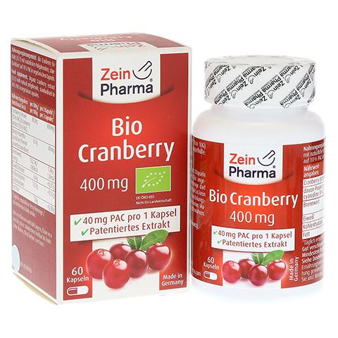 BIO CRANBERRY Vegi Kapseln 400 mg 60 Stück