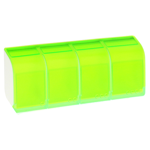 MEDI 7 quattro Medikamentendosierer 4-Fächer grün 1 Stück