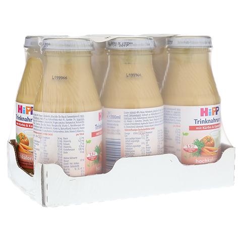 HIPP Trinknahrung Kürbis & Karotte hochkalorisch 6x200 Milliliter