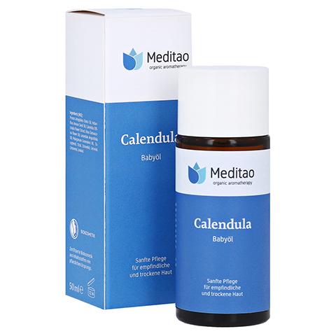 MEDITAO Calendula Babyöl 50 Milliliter
