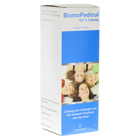 BiomoPedicul 0,5% 100 Milliliter N2