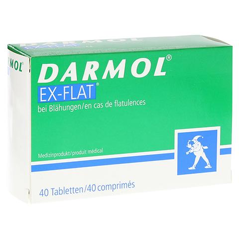 DARMOL EX-FLAT magensaftresistente Tabletten 40 Stück