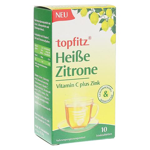 TOPFITZ heiße Zitrone Trinktabletten 10 Stück