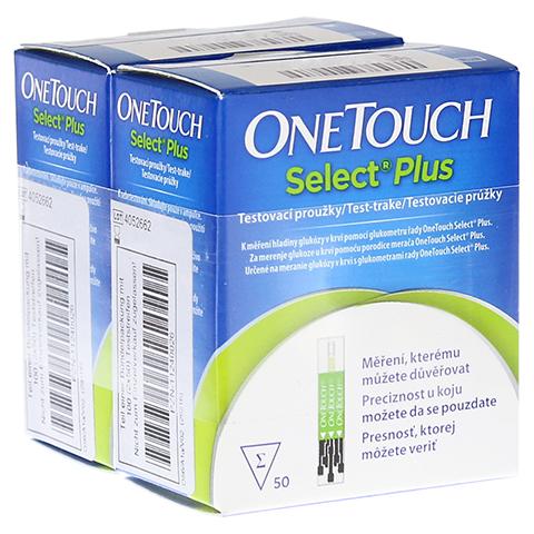 ONETOUCH SelectPlus Blutzucker Teststreifen 100 Stück