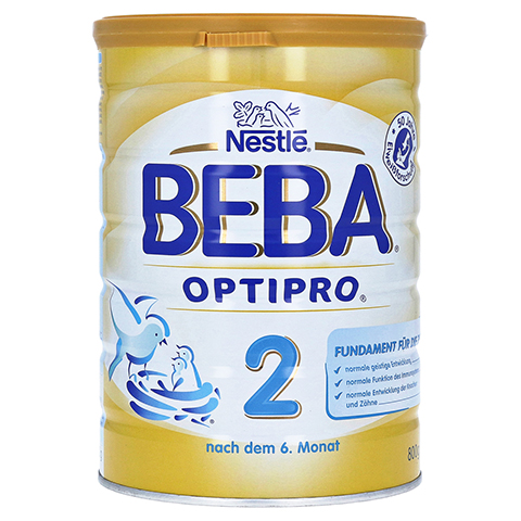 NESTLE BEBA OPTIPRO 2 Pulver 800 Gramm