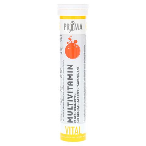 PRIMA VITAL Multivitamin Brausetabletten 20 Stück