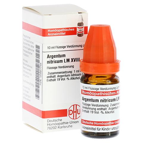 LM ARGENTUM nitricum XVIII Dilution 10 Milliliter N1