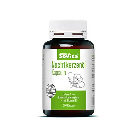 SOVITA Nachtkerzenöl Kapseln 200 Stück