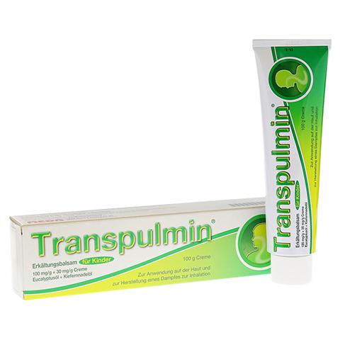 Transpulmin Erkältungsbalsam für Kinder 100 Gramm